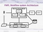fwfl workflow system architecture