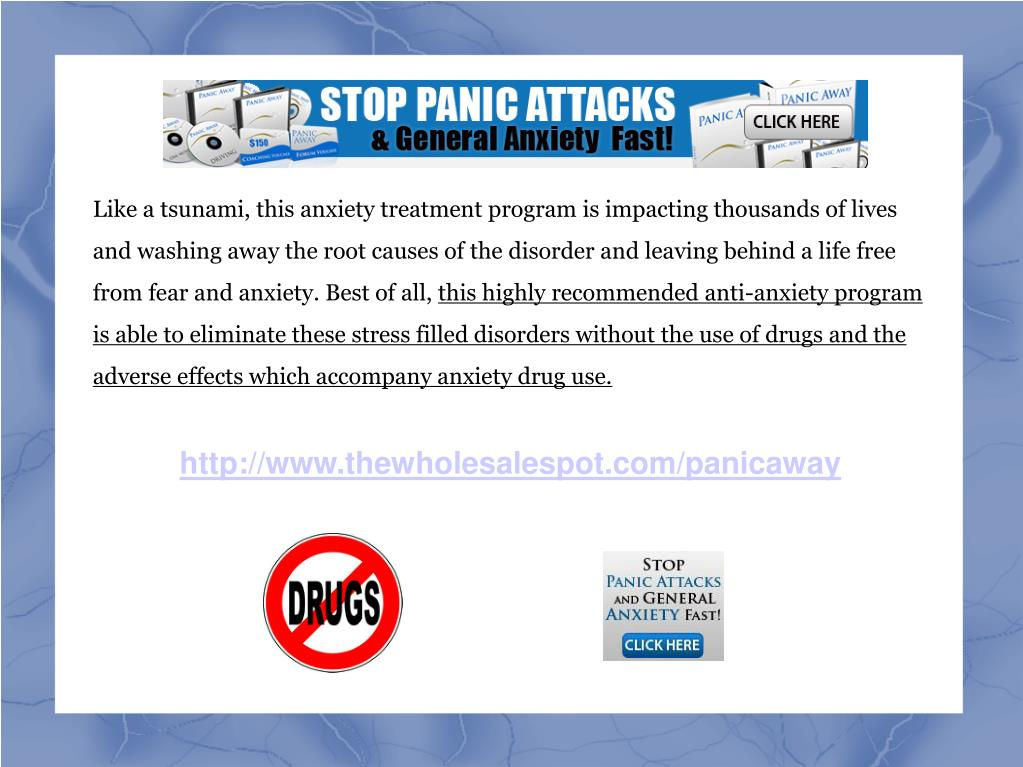 Like a tsunami, this anxiety treatment program is impacting thousands of lives and washing away the root causes of the disorder and leaving behind a life free from fear and anxiety. Best of all,