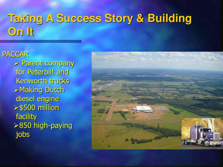 Taking A Success Story & Building On It