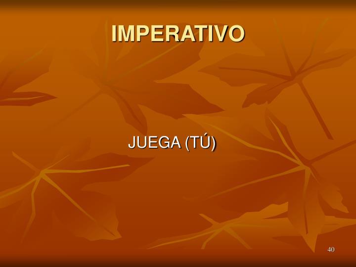 IMPERATIVO
