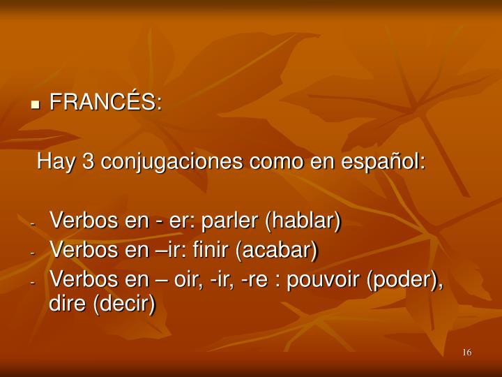 FRANCÉS: