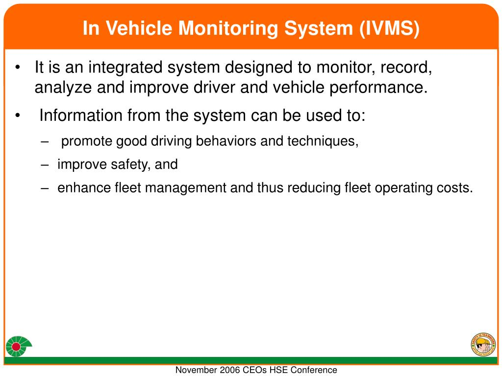 In Vehicle Monitoring System (IVMS)