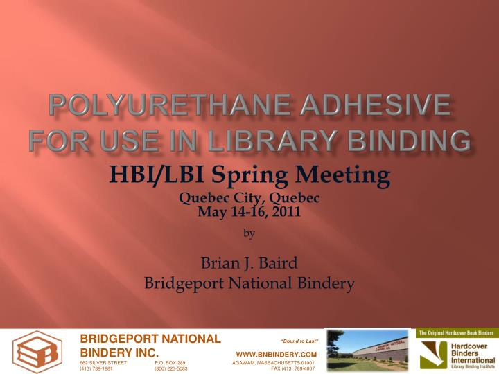 Polyurethane adhesive for use in library binding