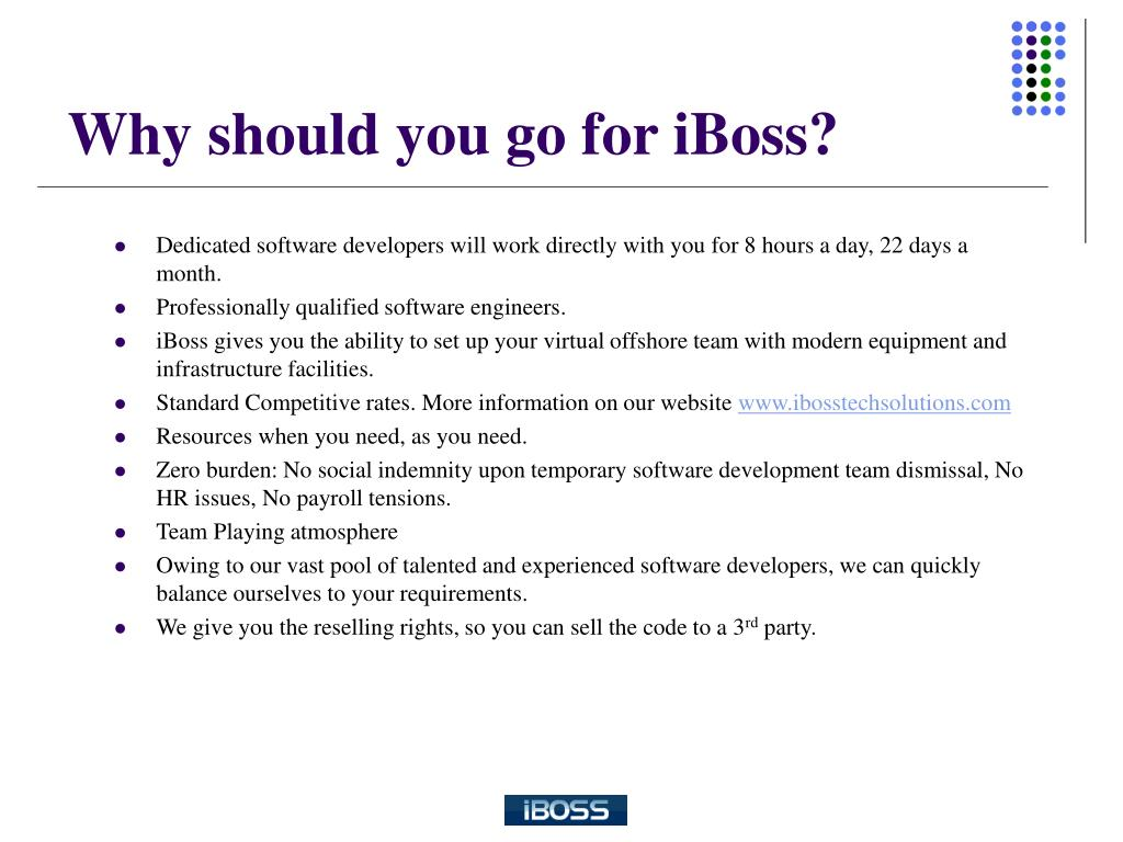 Why should you go for iBoss?