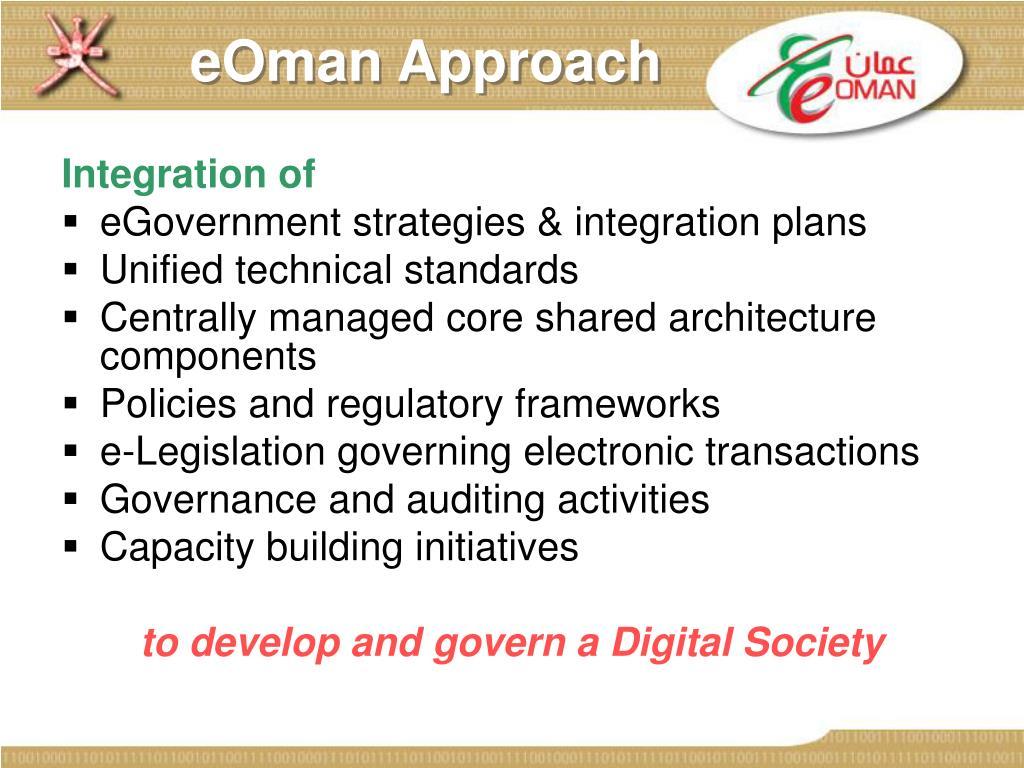 eOman Approach