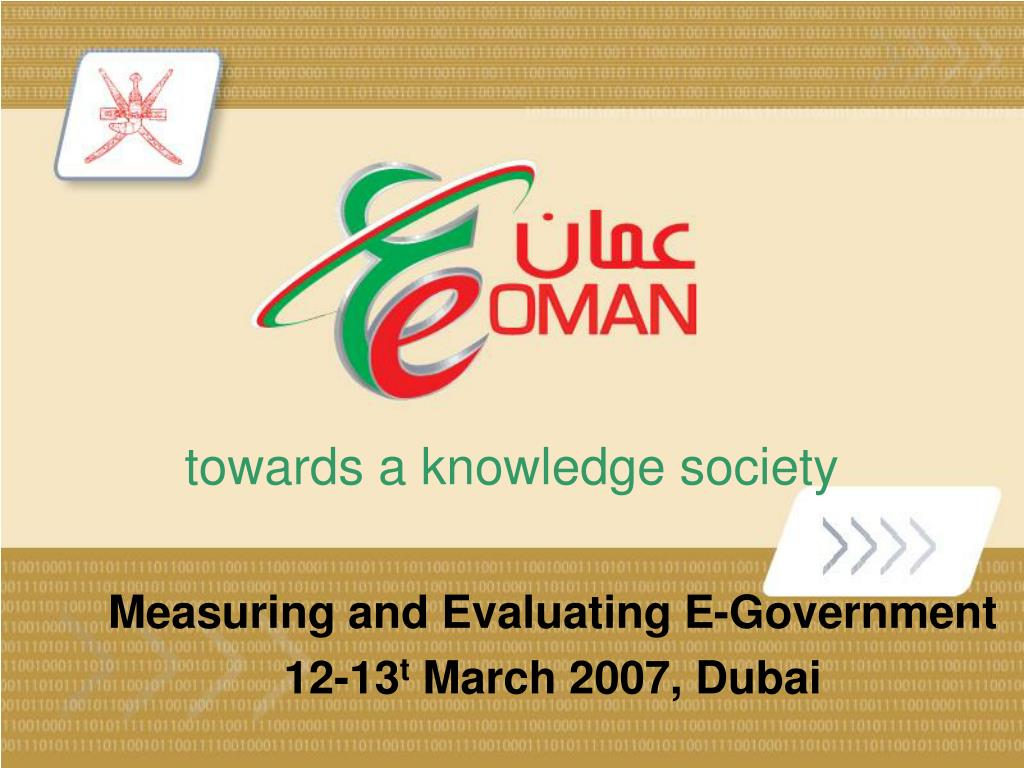 towards a knowledge society