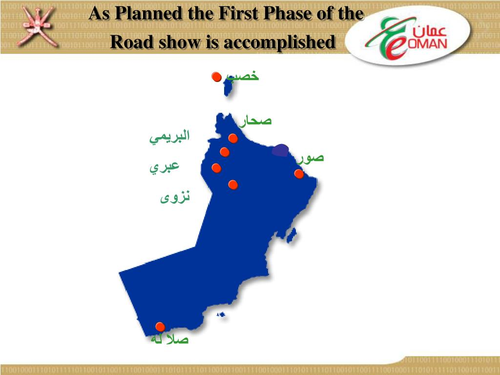 As Planned the First Phase of the Road show is accomplished
