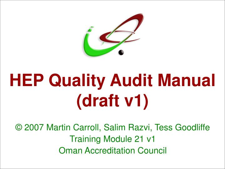 Hep quality audit manual draft v1 l.jpg