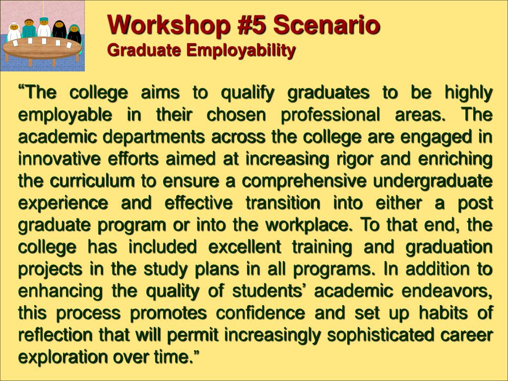 Workshop #5 Scenario