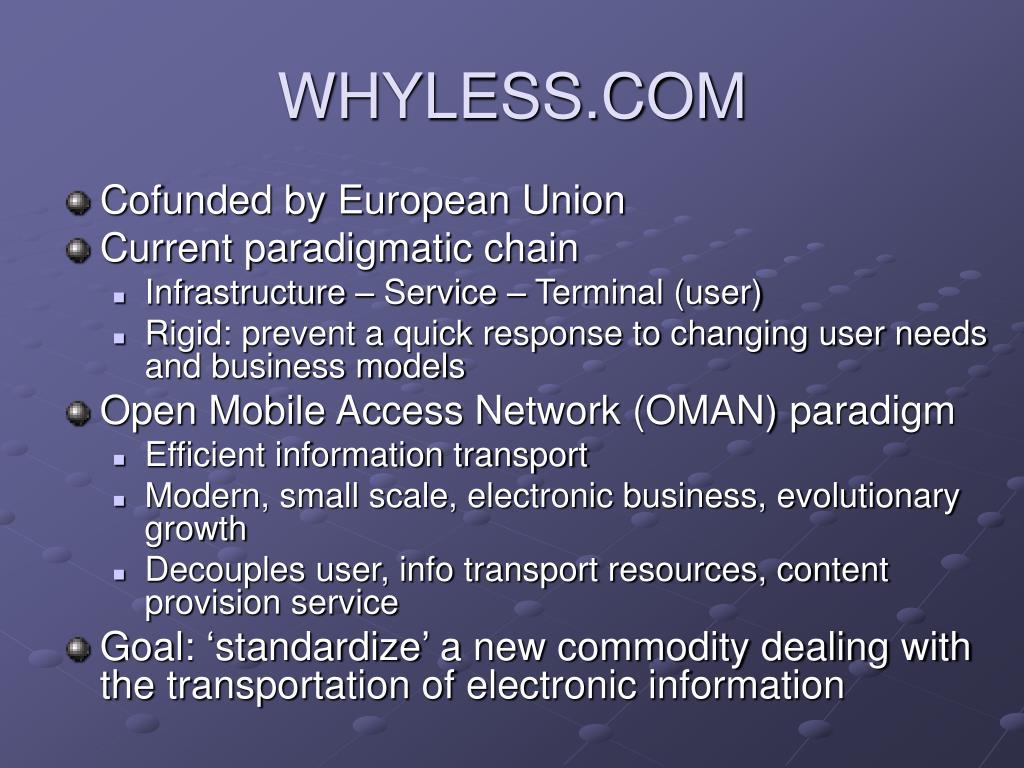 WHYLESS.COM