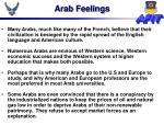arab feelings