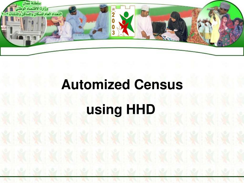 Automized Census