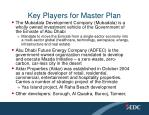 key players for master plan