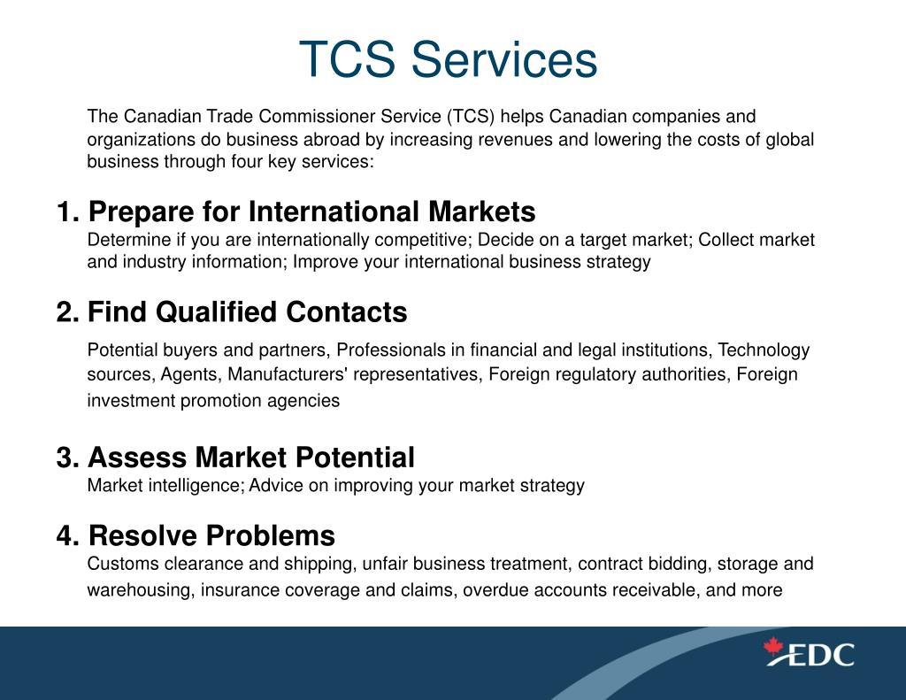 TCS Services