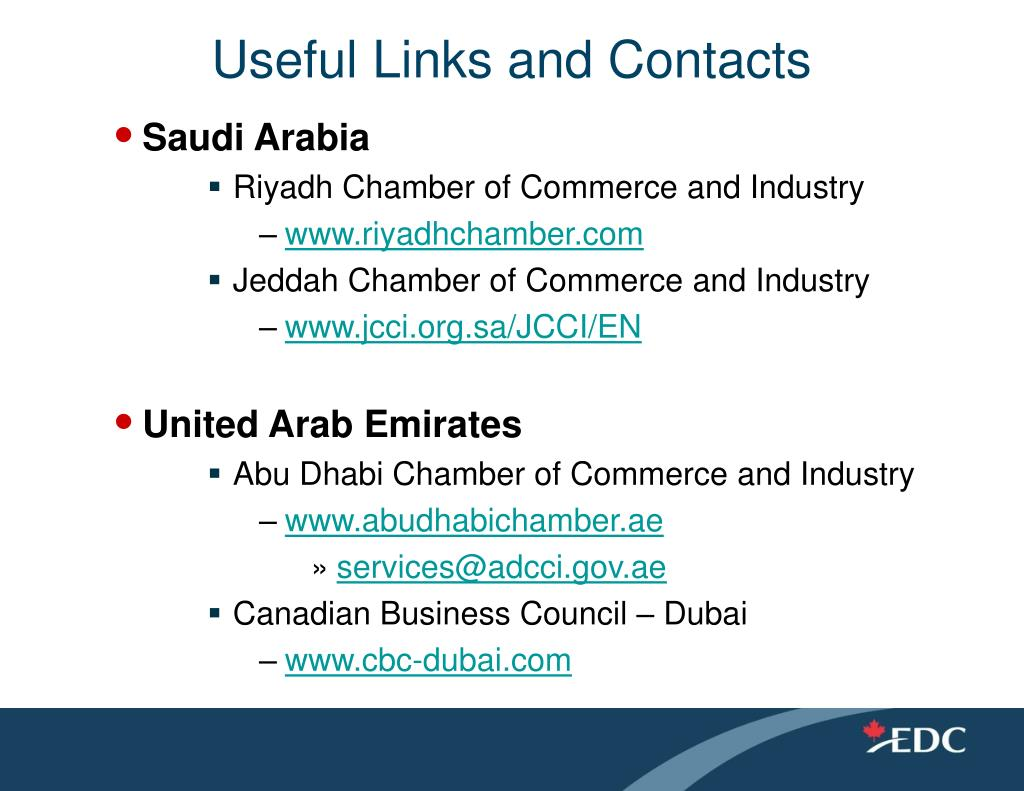 Useful Links and Contacts