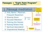 passages eight point program easwaran 1978 1991
