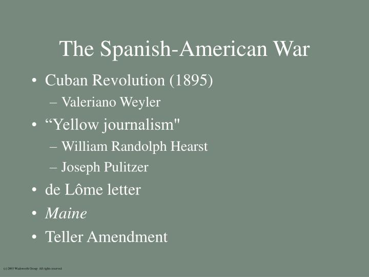 Yellow Journalism Spanish American - 24.3KB