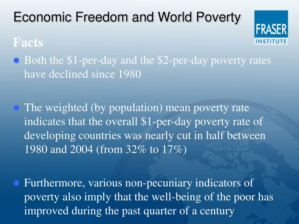 Economic Freedom and World Poverty