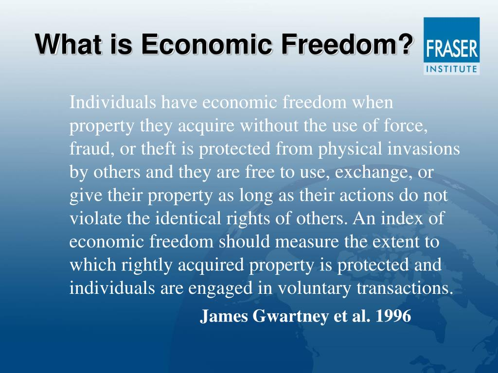 What is Economic Freedom?