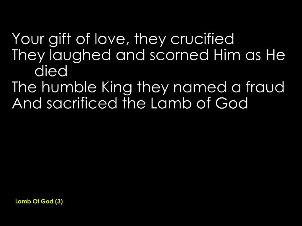 Lamb Of God (3)
