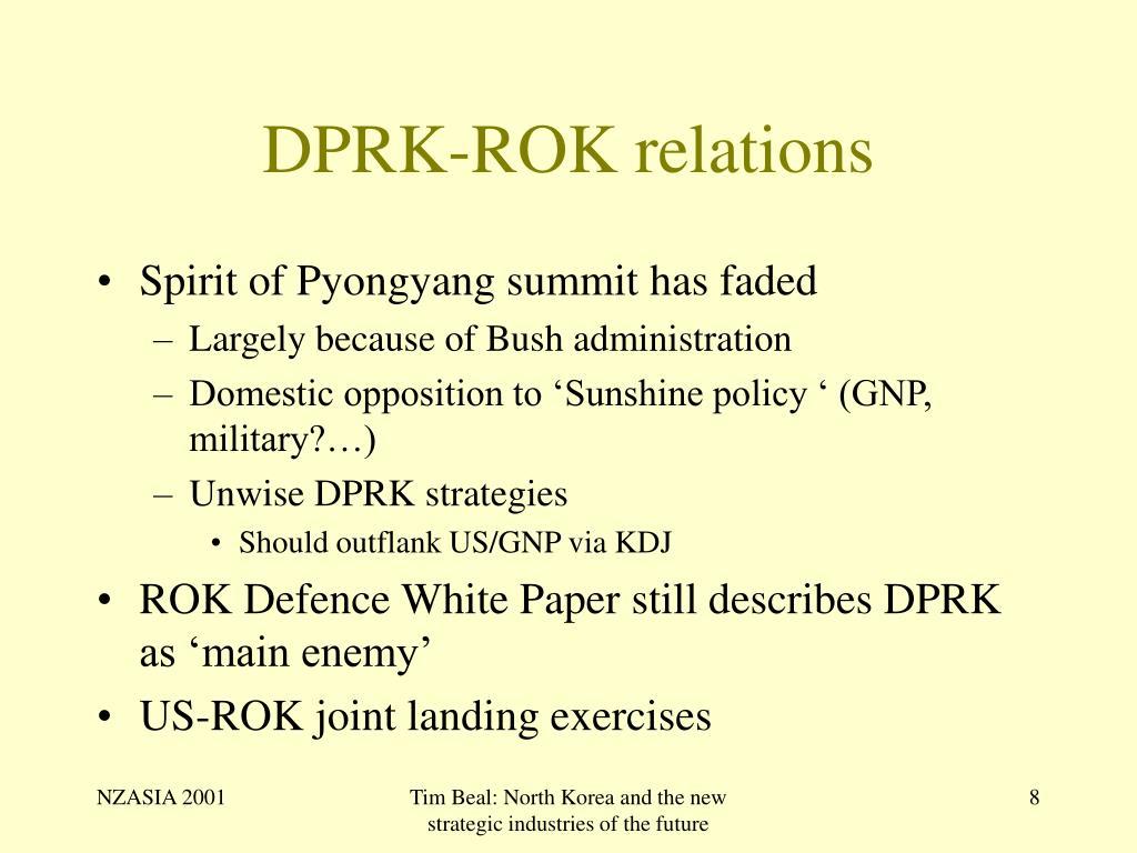 DPRK-ROK relations