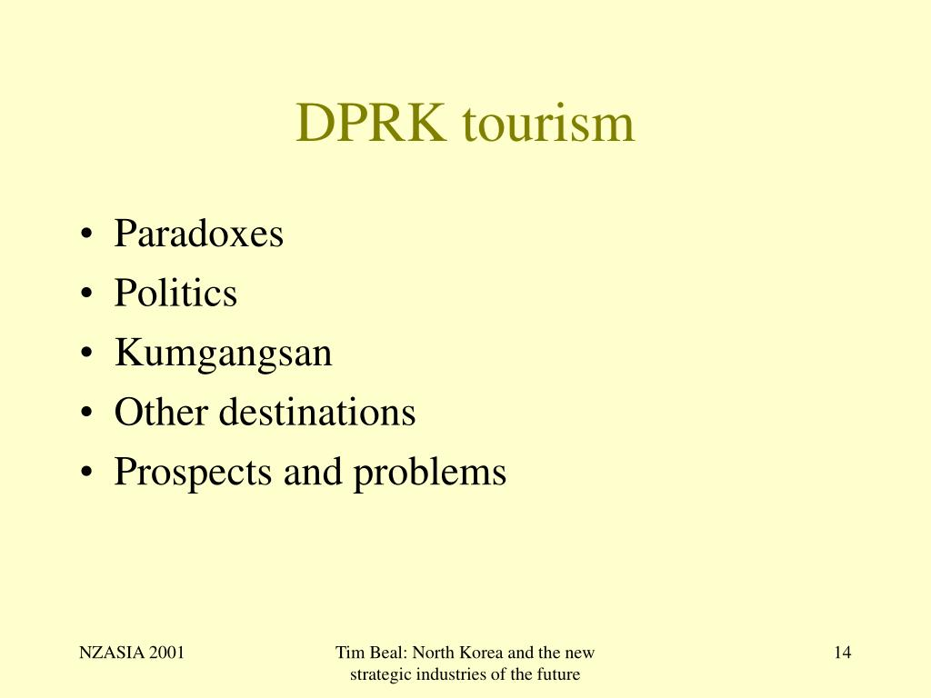 DPRK tourism