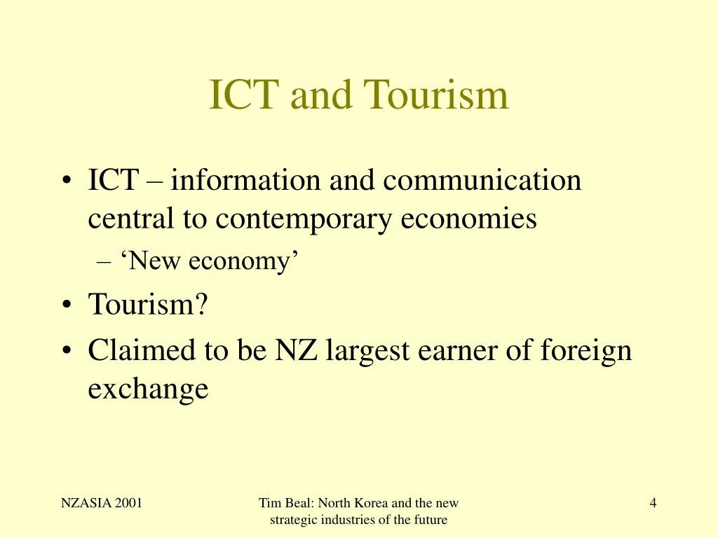 ICT and Tourism