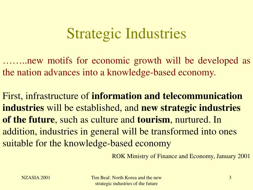 Strategic Industries