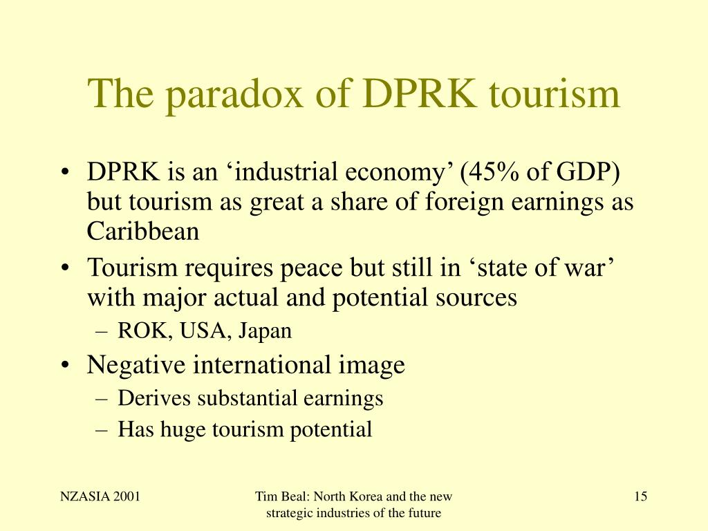 The paradox of DPRK tourism