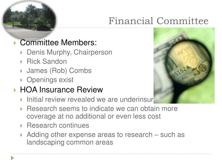 Financial Committee