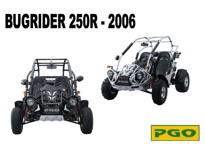 BUGRIDER 250R - 2006