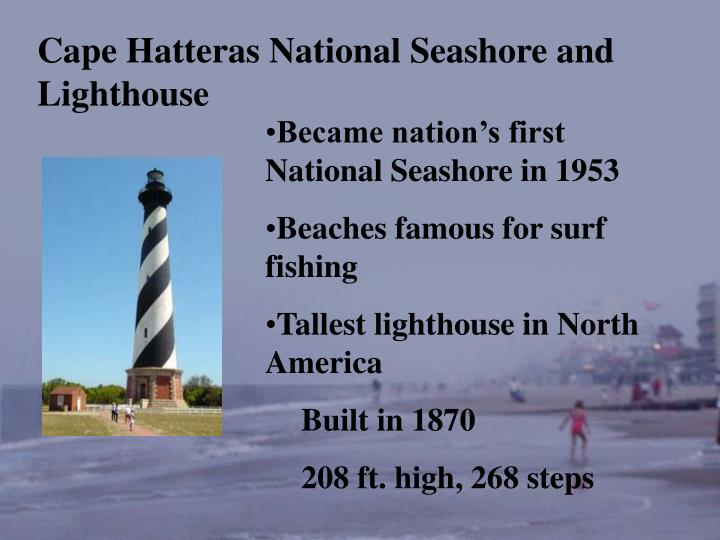 Cape Hatteras National Seashore and Lighthouse