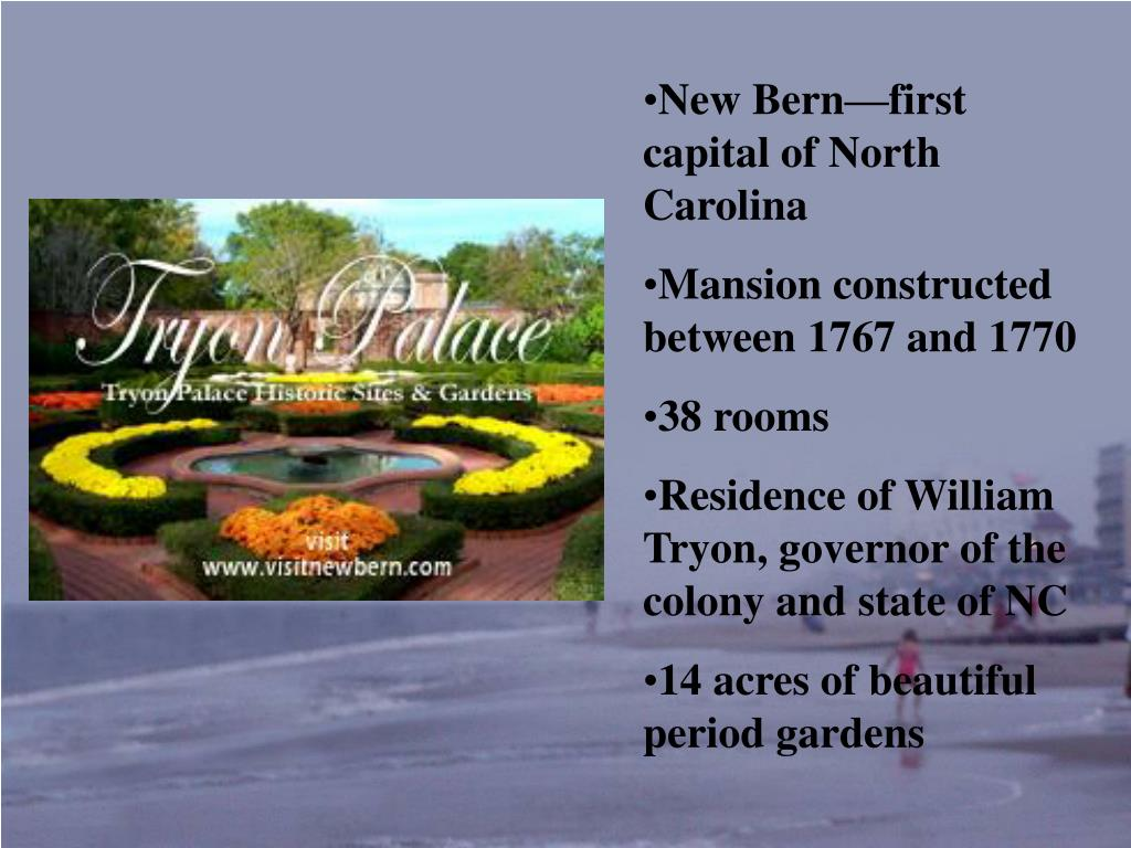 New Bern—first capital of North Carolina