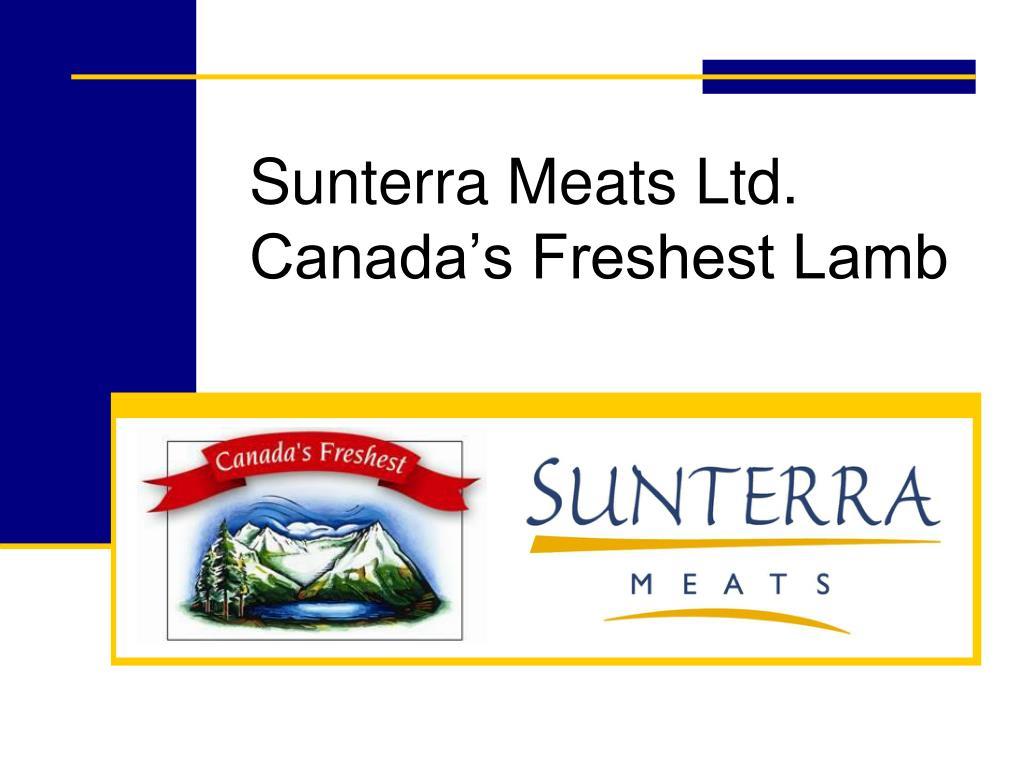 Sunterra Meats Ltd.