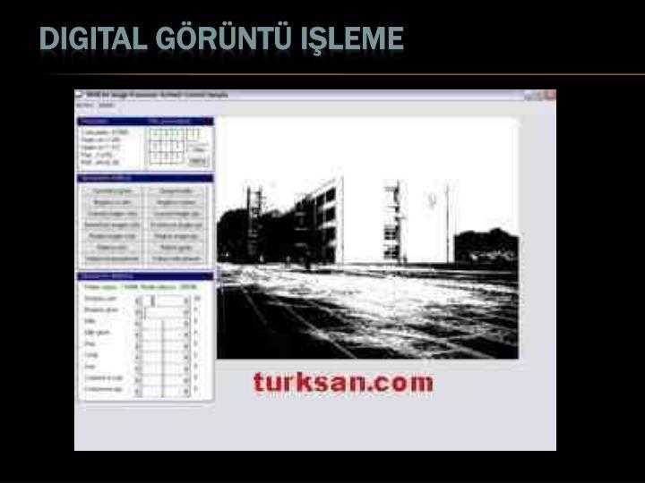 Digital görüntü işleme