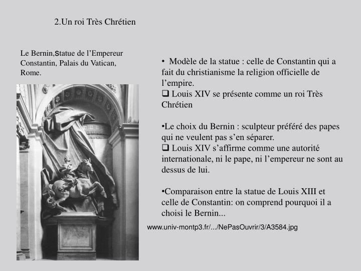 2.Un roi Très Chrétien