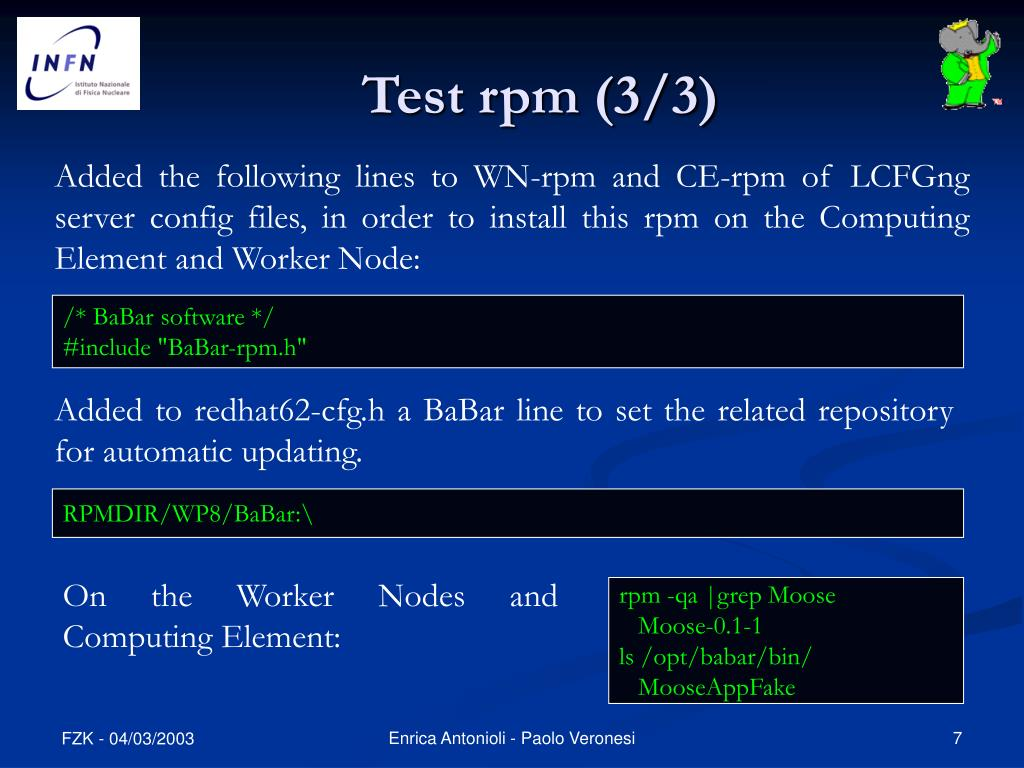 Test rpm (3/3)