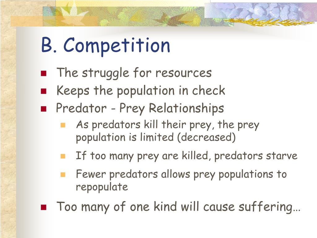 B. Competition