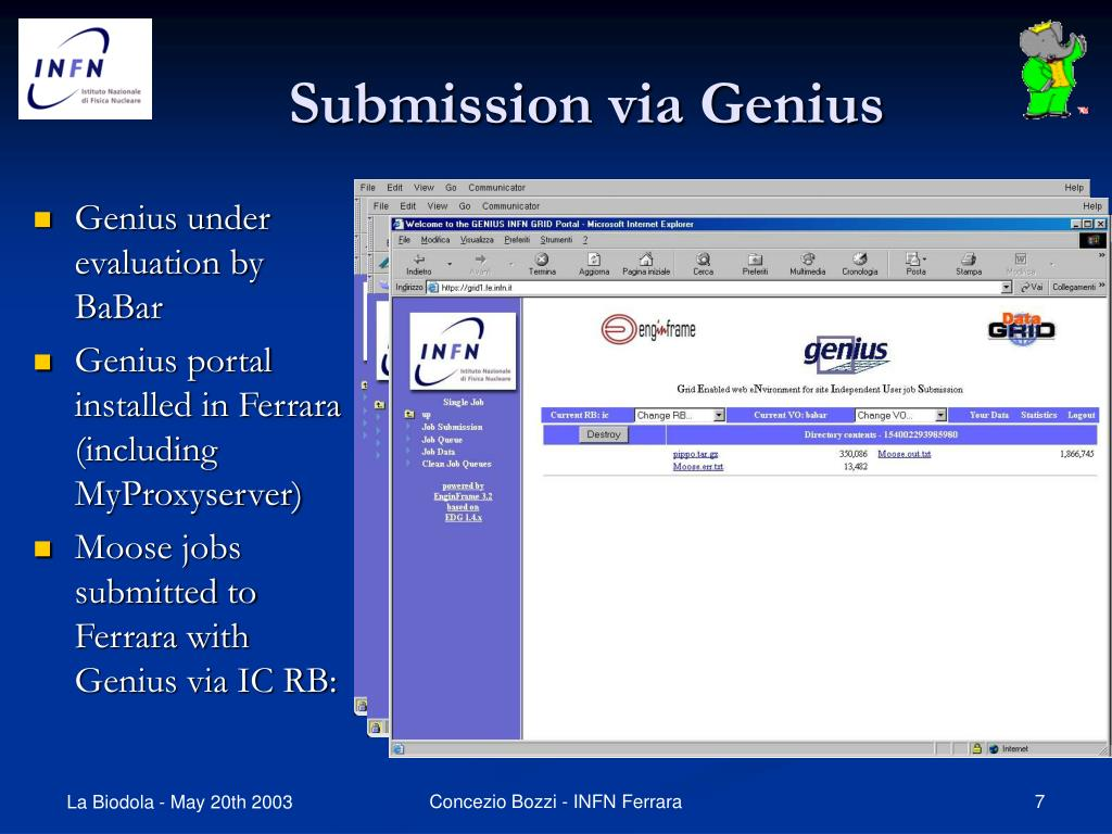Submission via Genius
