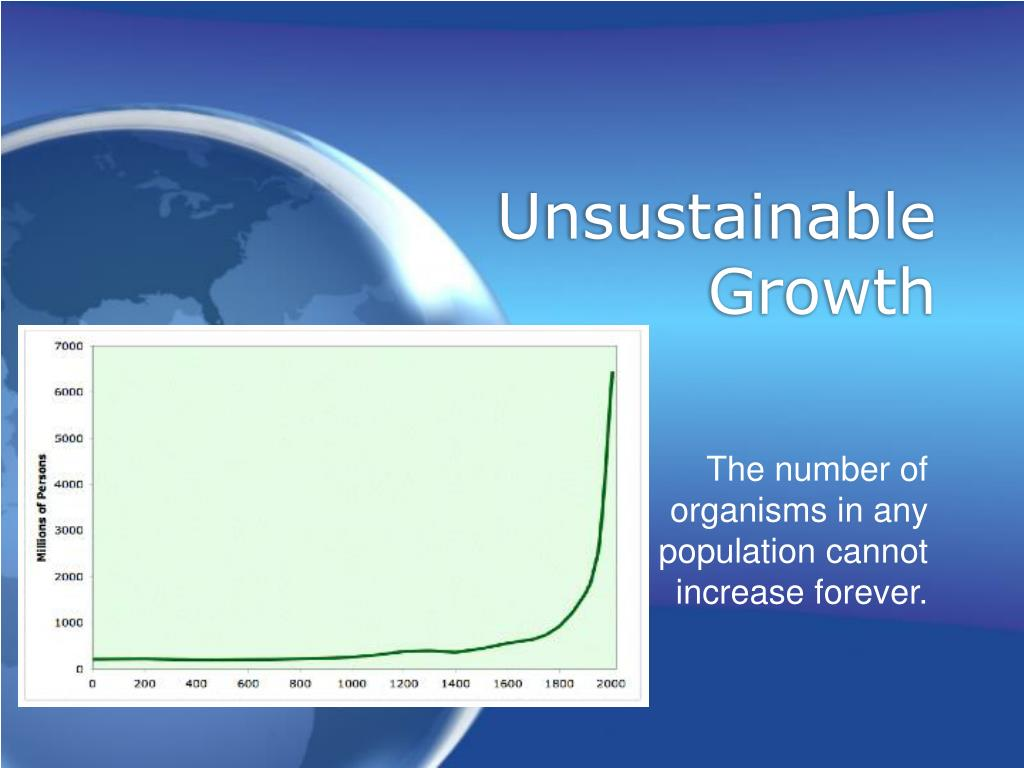 Unsustainable Growth