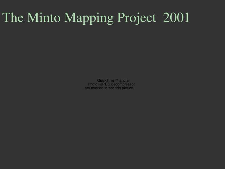 The Minto Mapping Project  2001