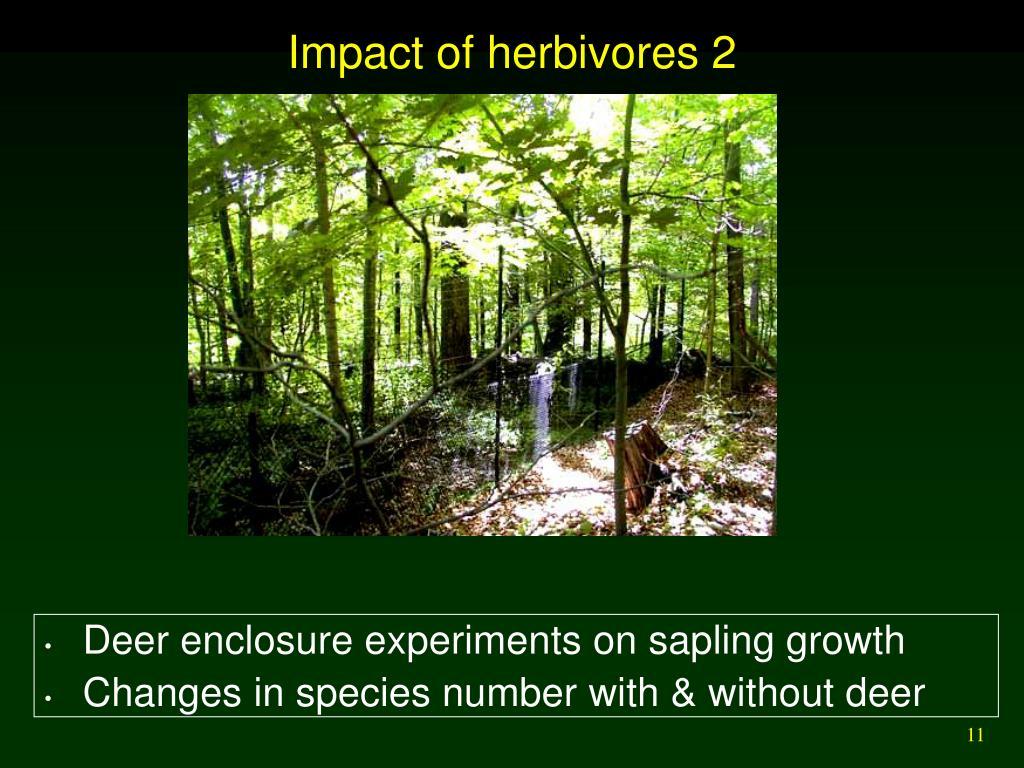Impact of herbivores 2