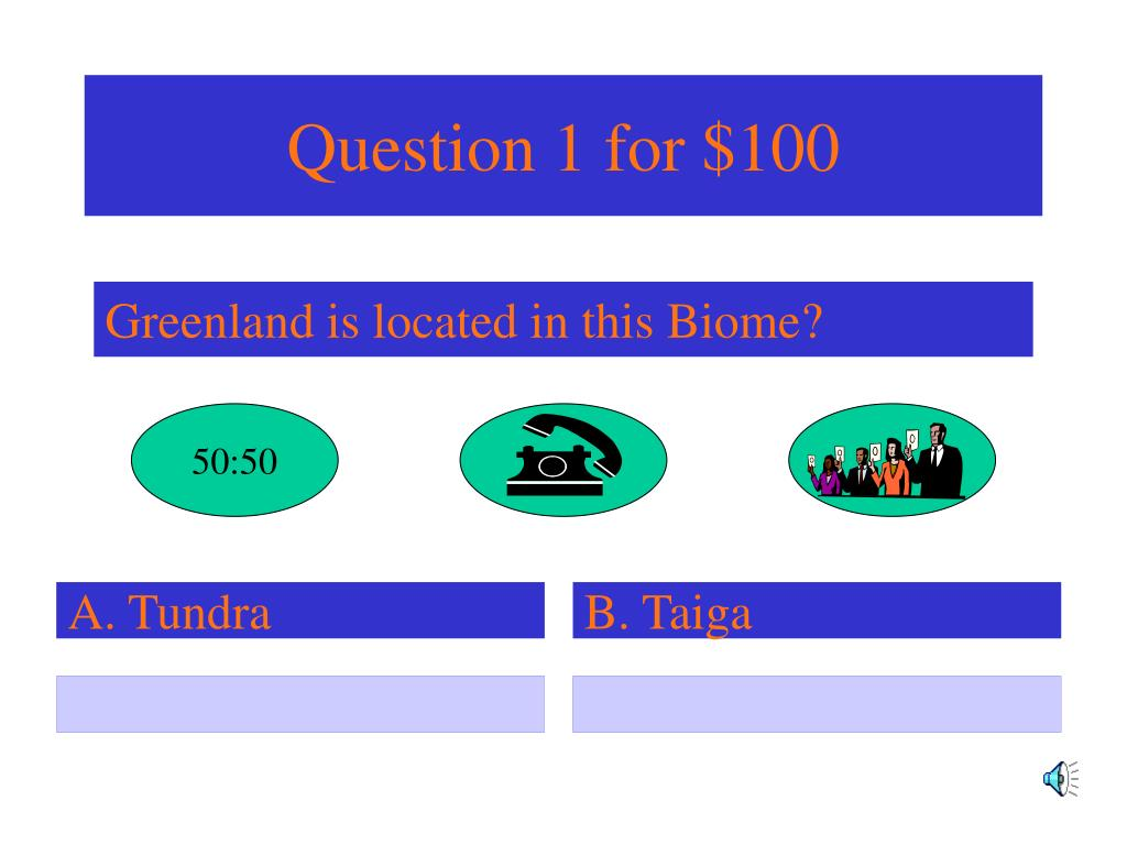 Question 1 for $100