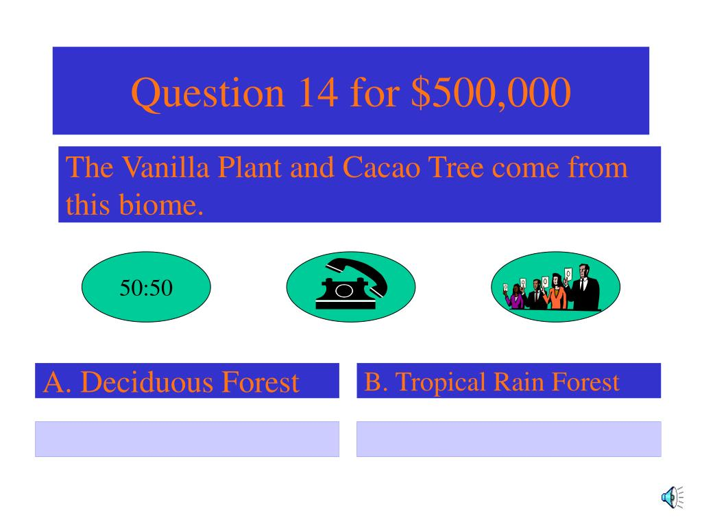 Question 14 for $500,000