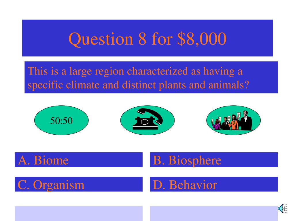 Question 8 for $8,000