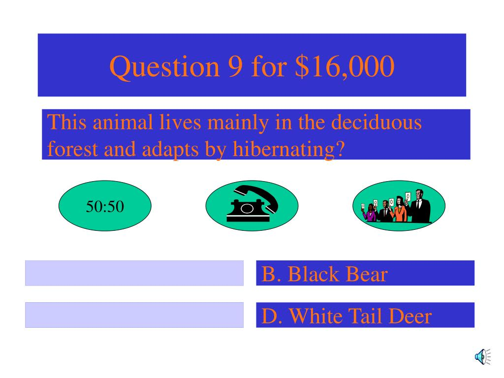 Question 9 for $16,000
