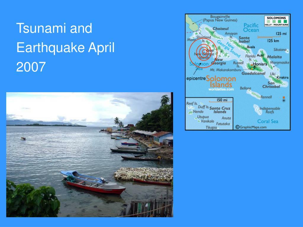 Tsunami and