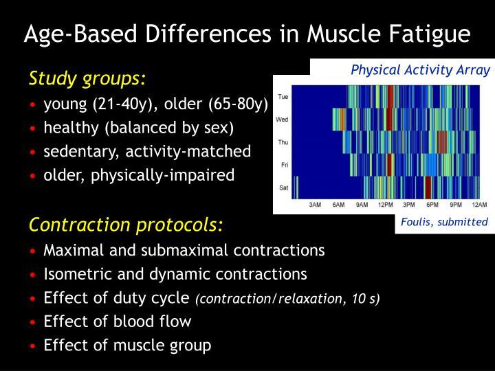 Physical Activity Array
