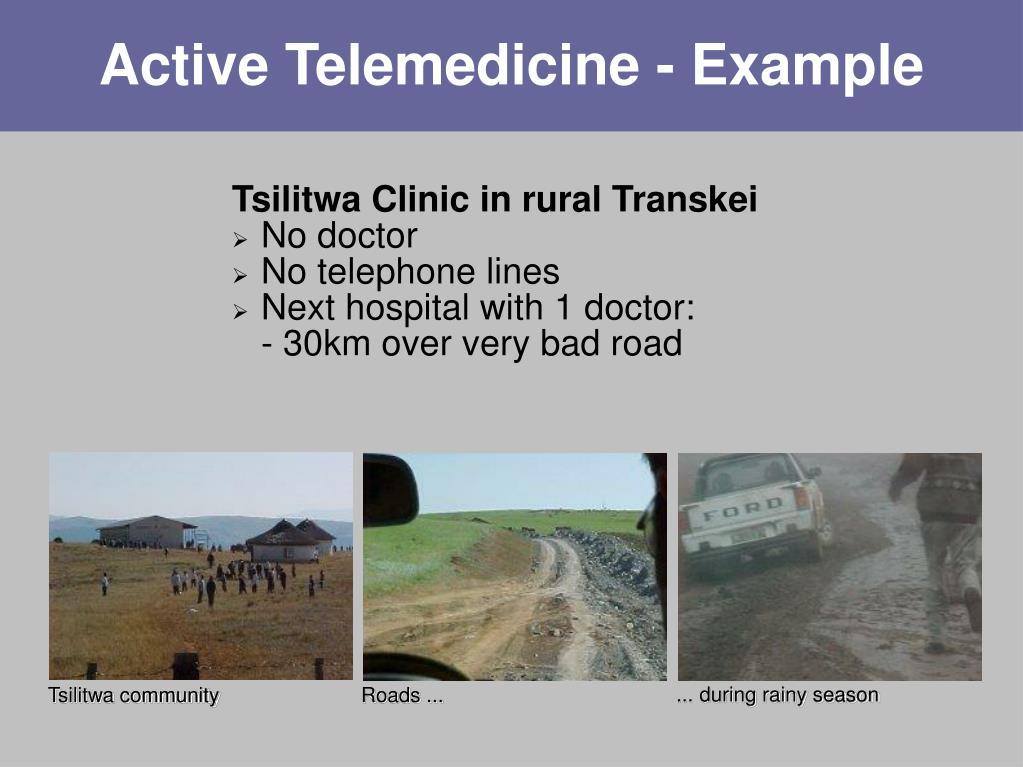 Active Telemedicine - Example