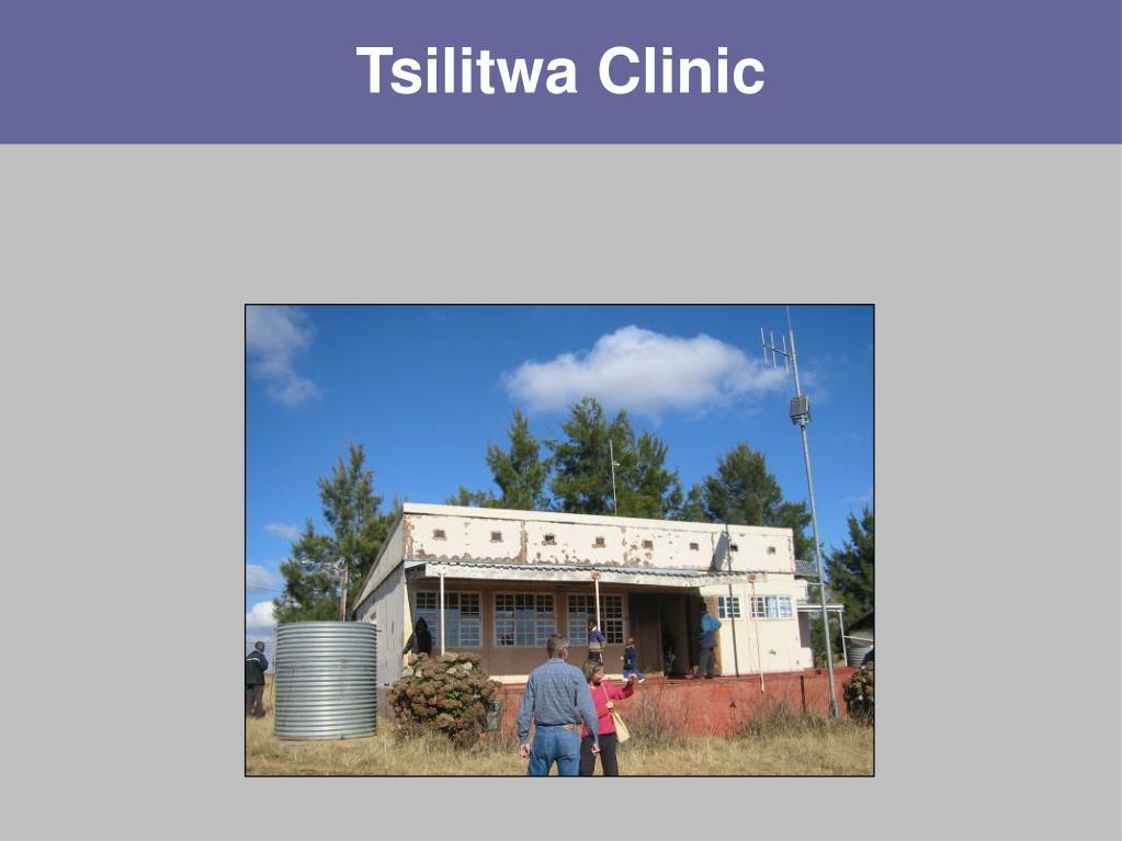 Tsilitwa Clinic
